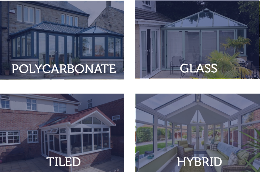 Different Conservatory Roofs